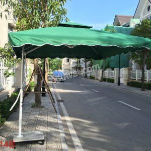 Ô Lệch Tâm Vuông 2,5m TO 014I-8Nan Có bánh xe